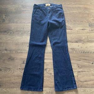 DEAR JOHN Marson Wide Leg Dark Wash Trouser Jeans